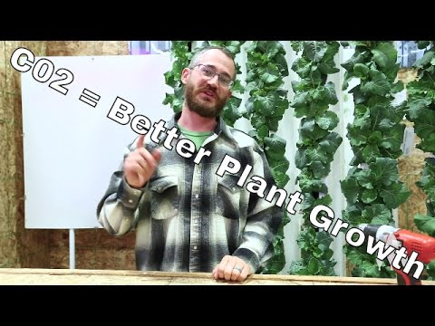 Supplementing CO2 for Plant Growth