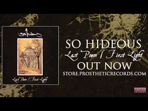 """So Hideous - """"Rising"""" (Official Track Stream)"""