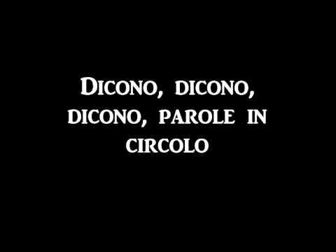Marco Mengoni - Parole In Circolo (Testo)