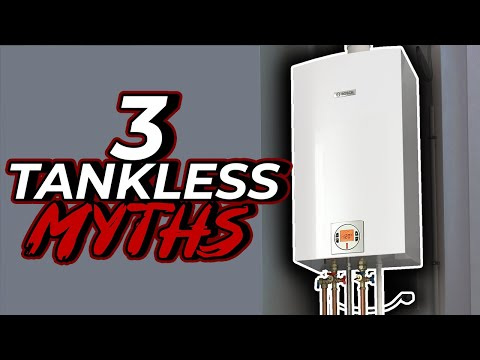 Master Plumber Exposes 3 Common Tankless Water Heater Myths