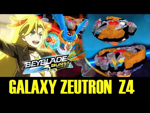 GALAXY ZEUTRON Z4 GAMEPLAY + CYPRUS COLLAB! BEYBLADE BURST TURBO APP ?????????????