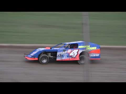 I.M.C.A. Heat Race #1 at Crystal Motor Speedway, Michigan on 08-31-2019!