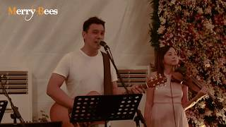 Sugar by John Lye (feat Ywenna and violinist) - MERRY BEES (Singapore Live Band)