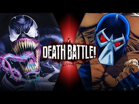 Venom VS Bane Marvel vs DC  DEATH BATTLE!