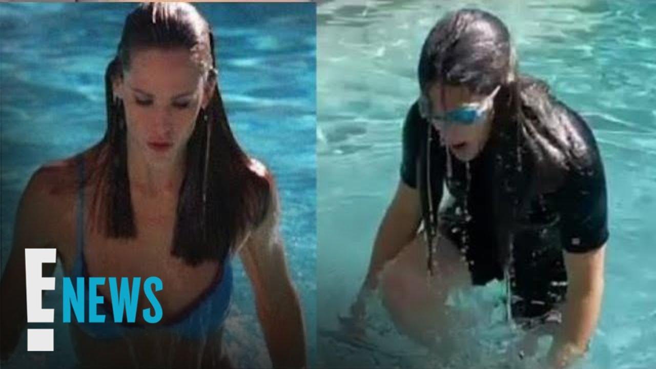 "Download Jennifer Garner Recreates ""Alias"" Pool Scene 18 Years Later   E! News"
