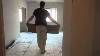 Звукоизоляция пола в квартире под стяжку: как сделать своими руками, материалы, видео-инструкция, фото