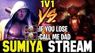 A Trashtalker just challenge SUMIYA to 1Vs1   Sumiya Invoker Stream Moment #525