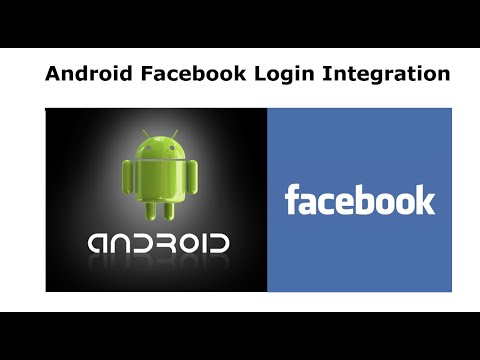 Android Studio Facebook Login Integration Part 1