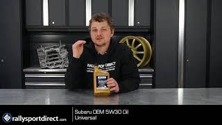 Subaru OEM 5w30 Oil Oil