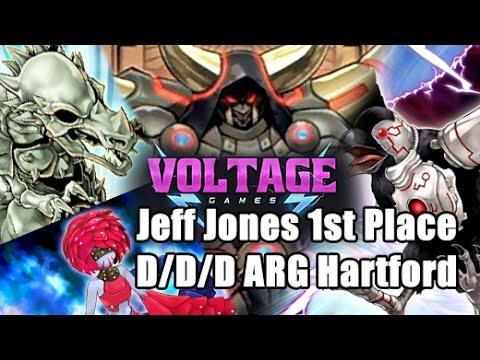 VG Jeff Jones 1st Place D/D/D Deck Profile ARG Hartford (Voltage Games)