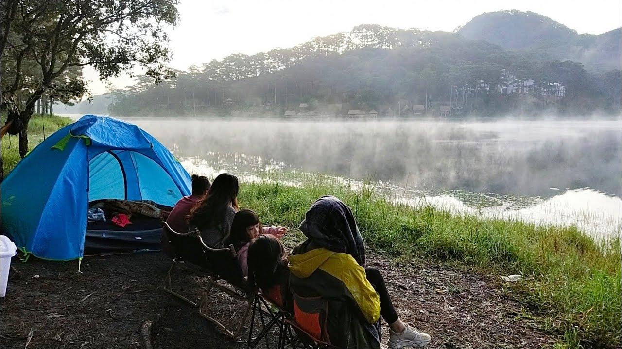 Ngắm sương sớm ảo diệu trên hồ Tuyền Lâm| Đoàn Quý Lâm