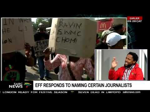 EFF responds to naming certain journalists