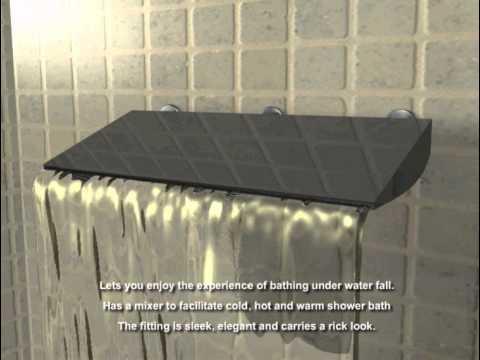 waterfalls shower