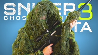 STEALTH AND ACTION TACTICS • Sniper Ghost War...
