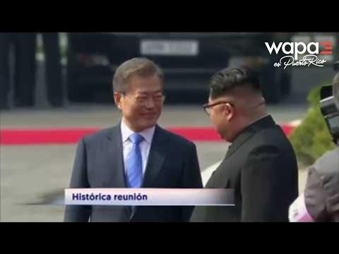 Histórico encuentro de los presidentes de ambas Coreas