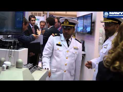 THALES Sonar & Underwater Solutions at NAVDEX 2015 Naval Exhibition in Abu Dhabi, UAE