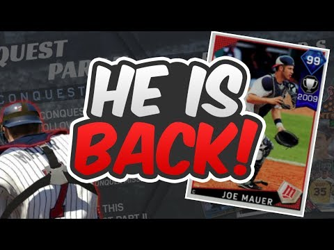 99 DIAMOND JOE MAUER IS HERE IN CONQUEST PART 2! | MLB THE SHOW 17 DIAMOND DYNASTY