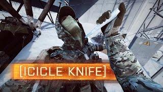► Icicle Knife + Mini Walker! - Battlefield 4: Final Stand Easter Eggs