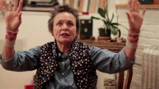 Laurie Anderson on Julian Schnabel
