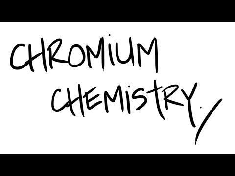 AQA A2 Chemistry - Chromium Chemistry