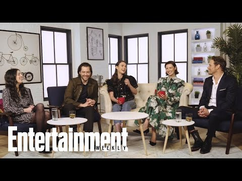 Why The Cast Of 'Outlander' Never Reads Ahead | Entertainment Weekly