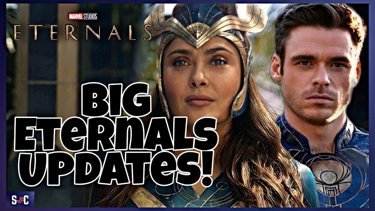 Marvel's 'Eternals' has two post-credit scenes, long runtime