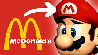 That time McDonald's tried to SPONSOR Mario's Hat