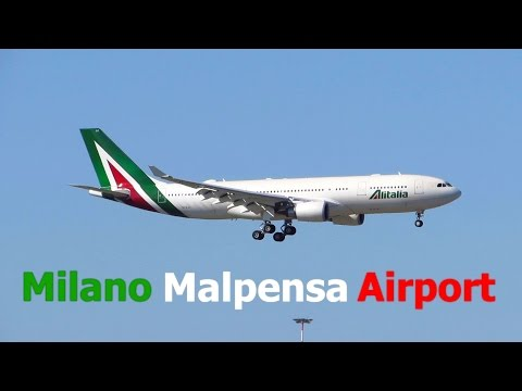 BUSY DAY Planespotting  - Fantastic Morning Heavies at Milan Malpensa Airport [Full HD]