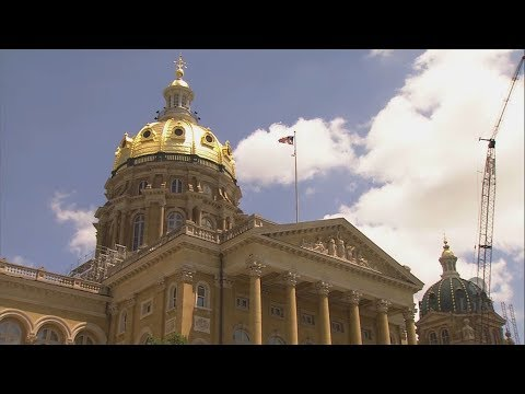 History and Maintenance of Iowa Capitol Building's Golden Dome