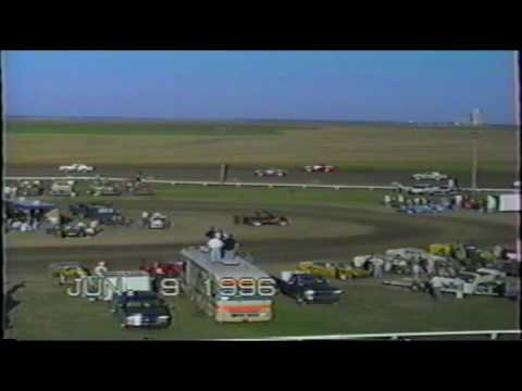 Wakeeney Speedway June 9 1996 Hobby Stock Heat #1