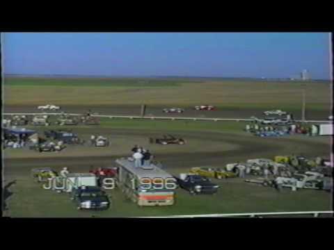 Wakeeney Speedway June 9 1996 Hobby Stock Heat #1