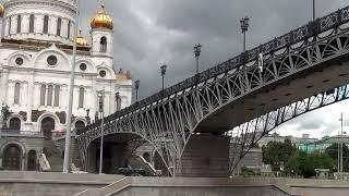 MOSCÚ DESDE EL RIO MOSKVA