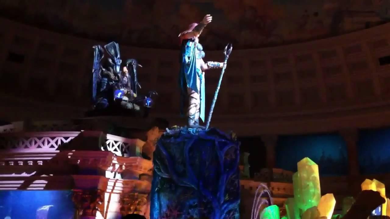 Caesar's Palace (Las Vegas) Atlantis Greek Mythology Animatronic Live Show