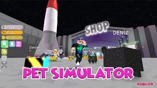 Petlerim ile Aya Gidiyoruz / Pet Simulator / Roblox Türkçe