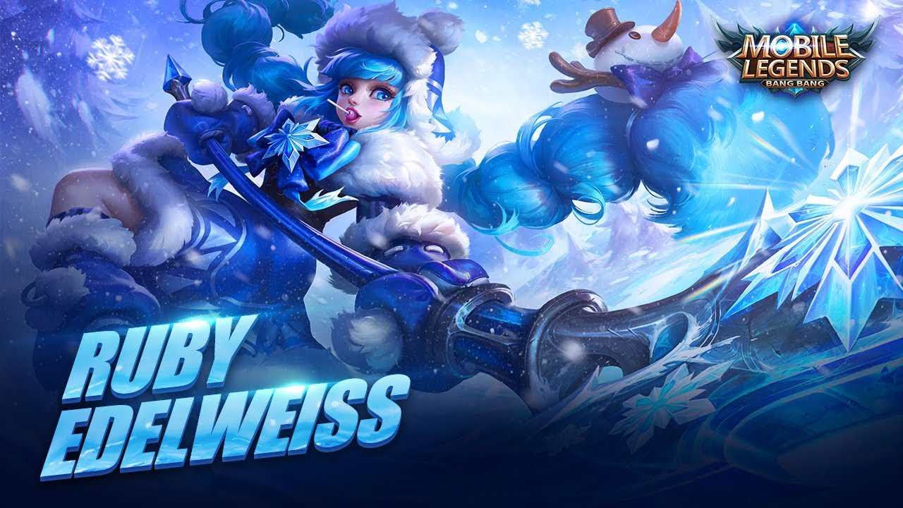 ruby new skin | edelweiss mobile legends: bang bang!