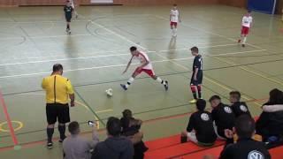 U15 Jhg2004 Rot-Weiß Frankfurt - U14 1. FSV Mainz 05 4:4; Elektro-Reitz-Cup Steinbach/Ts 09.02.19