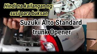 Suzuki Alto Trunk Door Release…