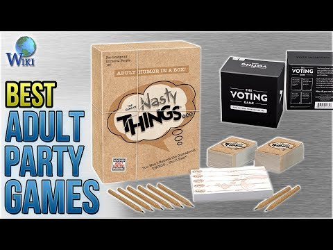 10 Best Adult Party Games 2018