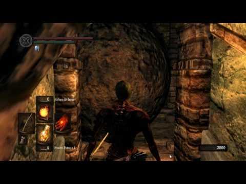 Dark Souls - Fortaleza de Sen - SUPER RAPIDO - ULTRA FAST - hoguera
