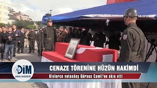 Alanyalı şehit Fatih Uysal'ın cenaze töreninde hüzün hakimdi