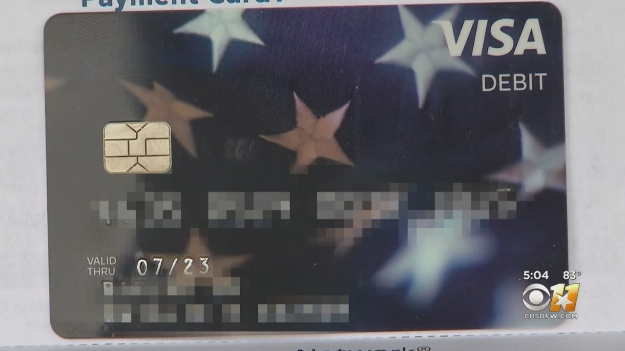 IRS Sends Out Stimulus Debit Cards With Mixed Up Names