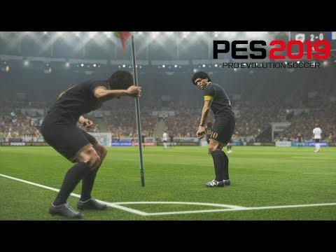 Pro Evolution Soccer 2019 - PES Legends Vs France - Gameplay FR