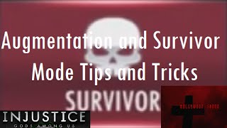 Injustice Gods Among Us iOS - Augmentation and Survivor Mode Tips and Tricks