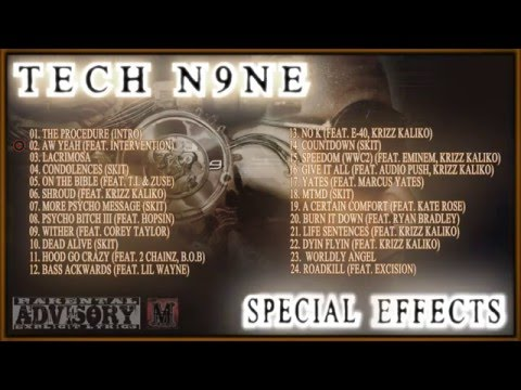 Tech N9ne - Special Effects (Full Album) [2015]