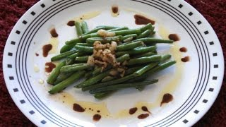 How To Make Garlic Green Beans Recipe From Scratch (frozen) - Quick & Easy