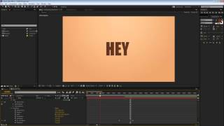 02. After Effects Tutorial │ Spinning Text Transition [Kinetic TYPE Trick]