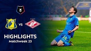 Highlights FC Rostov vs Spartak (2-1)