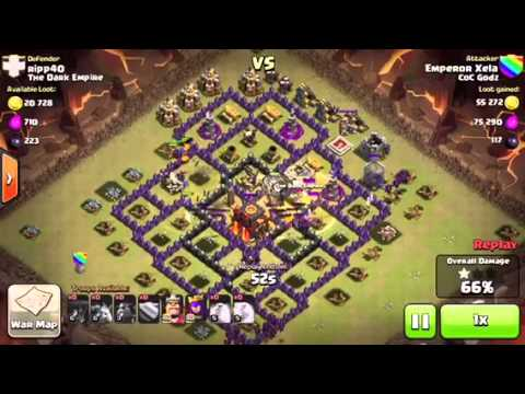 Clash of Clans - Fast Troop Deployment Strategy