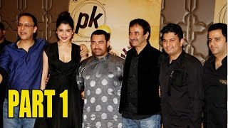 PK Grand Success Party | Aamir Khan, Anushka Sharma, Deepika, Ranveer PART - 1