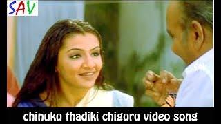 Chinuku Thadiki Video Song - Nee Sneham Telugu  Movie